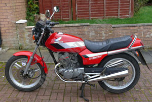 CB125TDJ UNITED KINGDOM 1988 R123 CB 125 TWIN