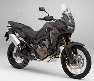 Xeniae Fit for HO.ND.A CRF 1000L CRF1000L Africa Twin ABS//DCT 2016 2017 2018 Motorrad-Zubeh/ör Federgabeln Gabelversteller xeniae Color : Black