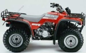 TRX300FWM USA 1991 R109 FOURTRAX 300 4X4