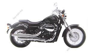FRAME HONDA 77333-MGR-670 COLLAR RR