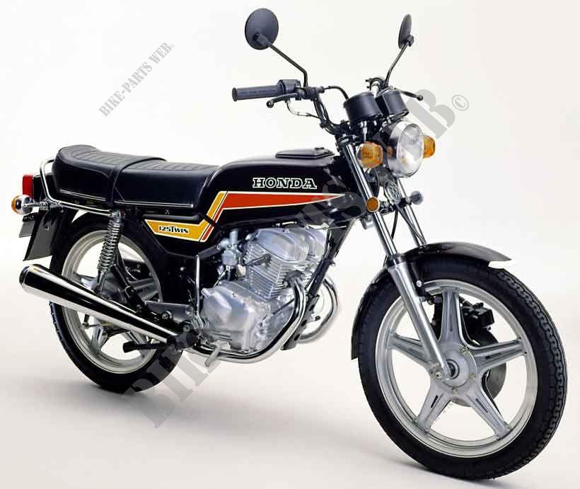 cb125ta cb125t honda motorcycle cb 125 twin 125 1980 united kingdom honda motorcycles atvs. Black Bedroom Furniture Sets. Home Design Ideas