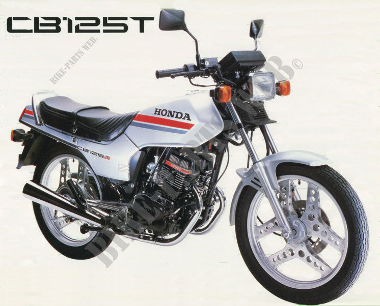 CB125TDC CB 125 TWIN UNITED-KINGDOM 1982