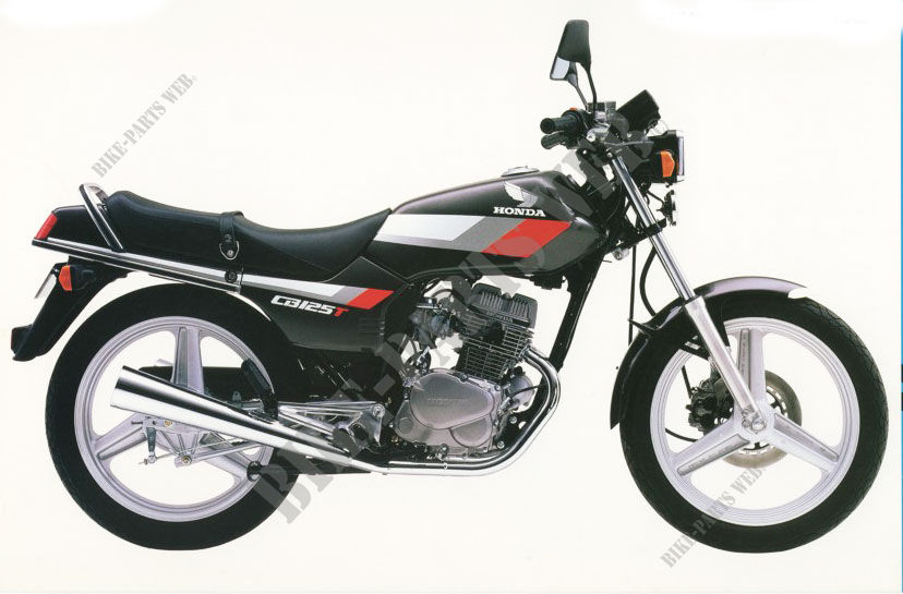 CB125TDJ CB 125 TWIN UNITED KINGDOM 1988