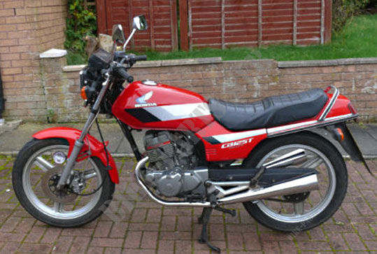 CB125TDJ R123 CB 125 TWIN UNITED KINGDOM 1988