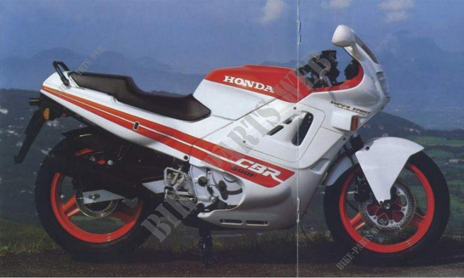 CBR600FJ NH193K cbr600fj pc19 honda motorcycle cbr 600 f 600 1988 france honda