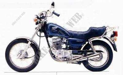 cm125cr jc05 honda motorcycle cm 125 custom 125 1994. Black Bedroom Furniture Sets. Home Design Ideas