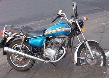 cm125t 78 cm125t honda motorcycle cm 125 t 125 1978 europe. Black Bedroom Furniture Sets. Home Design Ideas