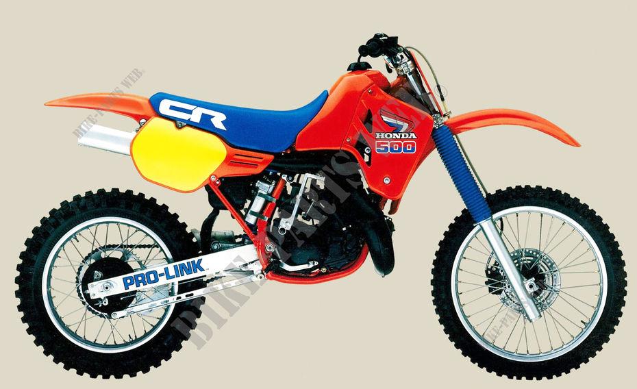Cr500rf pe020 honda motorcycle cr 500 500 1985 australia for Honda cr 500