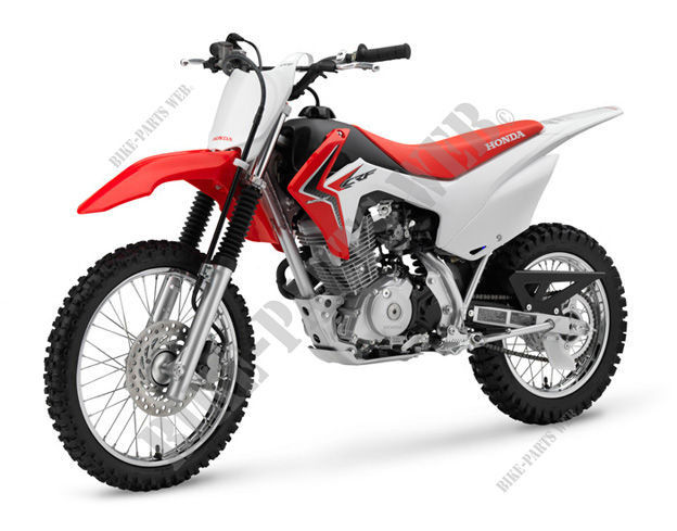 CRF125FE CRF 125 UNITED KINGDOM 2016