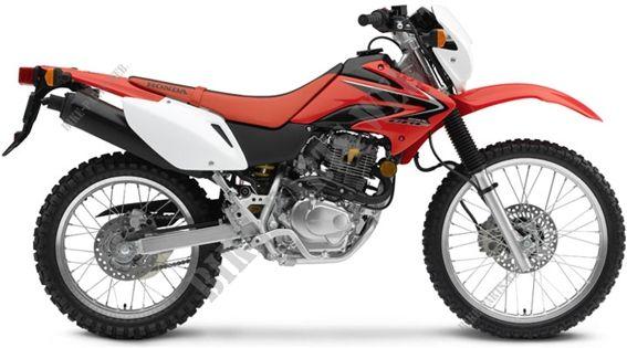 CRF230L8 R292 crf230l8 md371 honda motorcycle crf 230 l 230 2008 usa honda