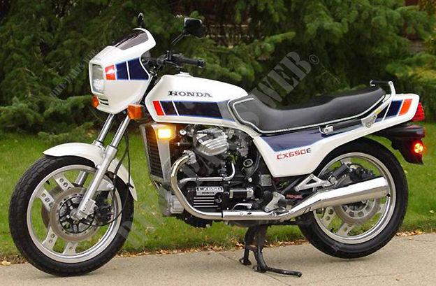 CX650ED RC12 HONDA Motorcycle CX 650 650 1983 CANADA HONDA ...