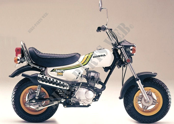 Extrem CY50_NAUTY_73 CY50 HONDA Motorcycle NAUTY DAX 50 50 1973 NIPPON  SA14