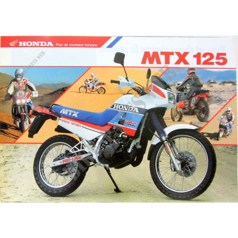 mtx125r2h tc02 honda motorcycle mtx 125 125 1987 europe. Black Bedroom Furniture Sets. Home Design Ideas