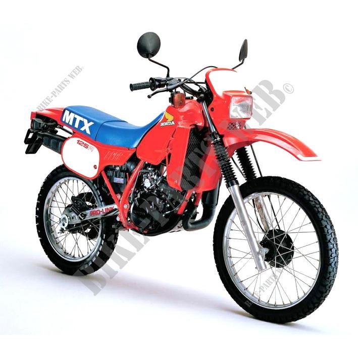 Mtx125rwd Jd05 Honda Motorcycle Mtx 125 125 1983
