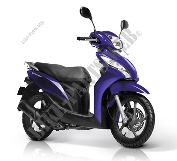 nsc110mpdc l3ehndml000d337 honda motorcycle vision 110 110 2012, Wiring diagram
