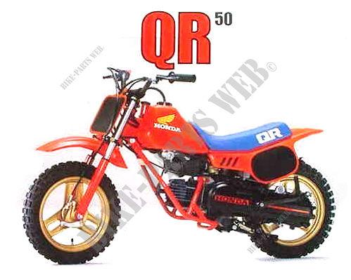 qr50d ae01 honda motorcycle qr 50 50 1983 europe honda motorcycles atvs genuine spare parts. Black Bedroom Furniture Sets. Home Design Ideas