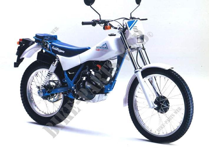 tl125j jd06 honda motorcycle tl125 125 1988 genuine honda tl125j 1988 nh196 tl125 tl125j tl125 1988