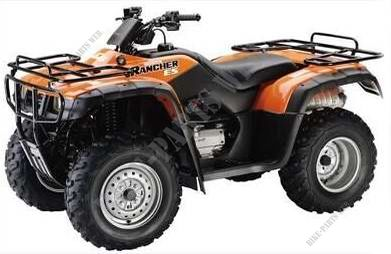 TRX350FEY TE256 HONDA Motorcycle FOURTRAX RANCHER 350 4X4 Electric Shift 350 2000 CANADA HONDA ...