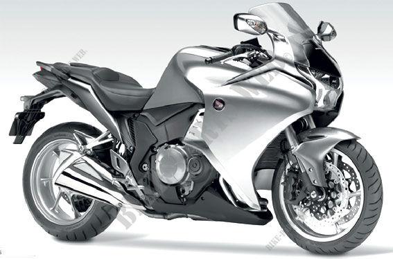 VFR1200FA SC63A HONDA Motorcycle VFR 1200 1200 2011 EUROPE ...