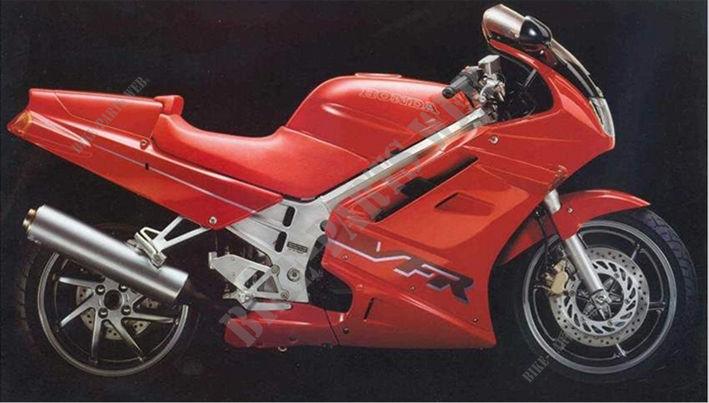 Honda VFR история модели #10