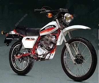 Xl125sa L125s Honda Motorcycle Xls 125 125 1980 Belgium