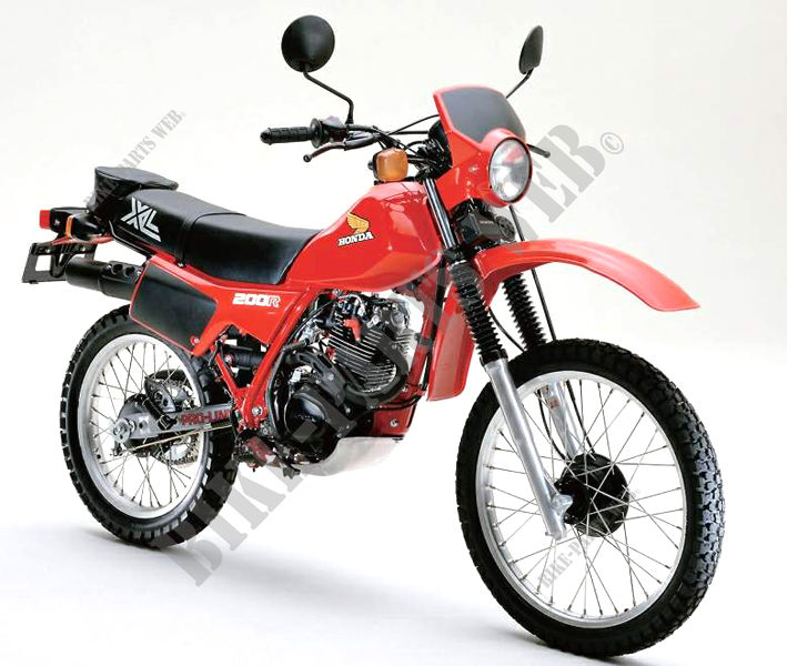 Honda 9870 ALL COUNTRY Motorcycle Photo Gallery HONDA