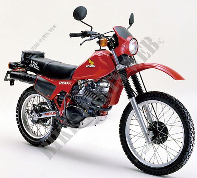 Xl250rc Md03 Honda Motorcycle Xlr 250 250 1982 Australia