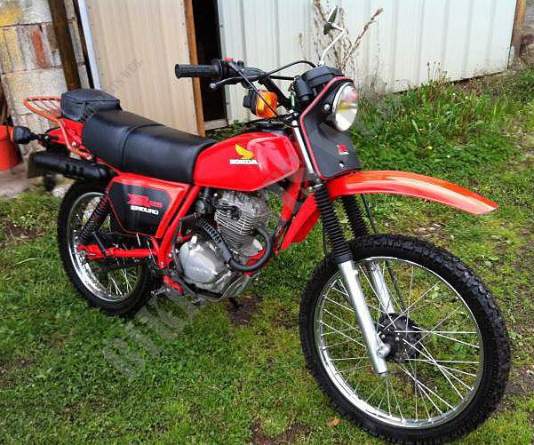 XR125A L125S HONDA Motorcycle XR 125 125 1980 SWITZERLAND HONDA Motorcycles & ATVS Genuine Spare ...