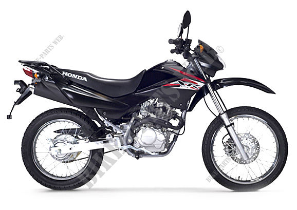 XR125LEKC HONDA Motorcycle XR 125 L Electric start + Kick ...
