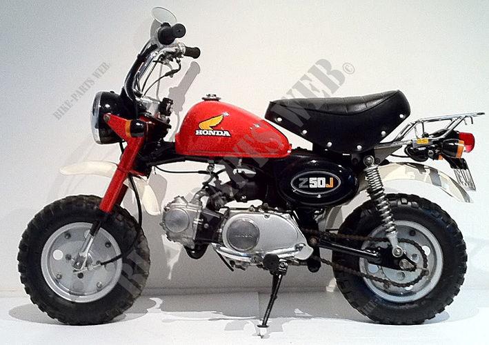 Z50JZ_M AB02 HONDA Motorcycle MONKEY 50 50 1979 AUSTRALIA ...