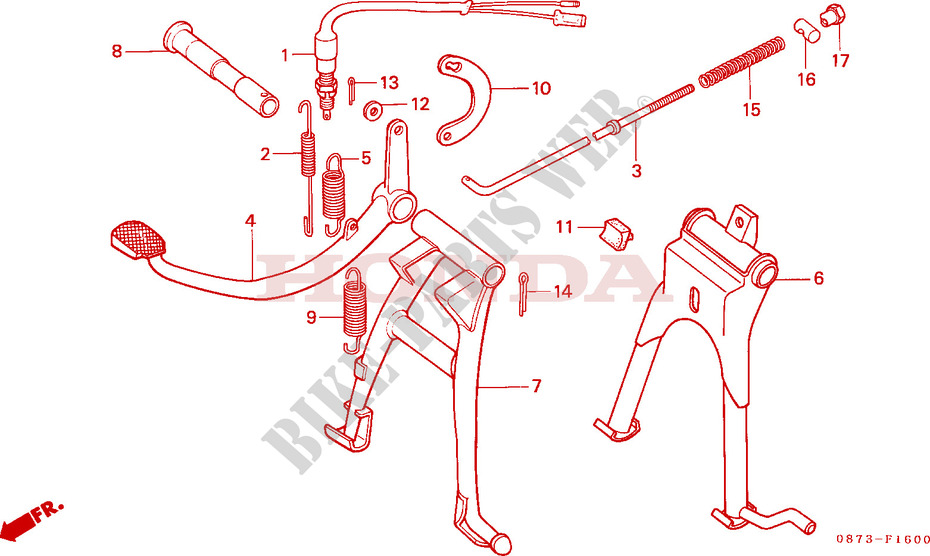 Fits Honda C 70 1977 Rear Brake Light Switch 70 CC