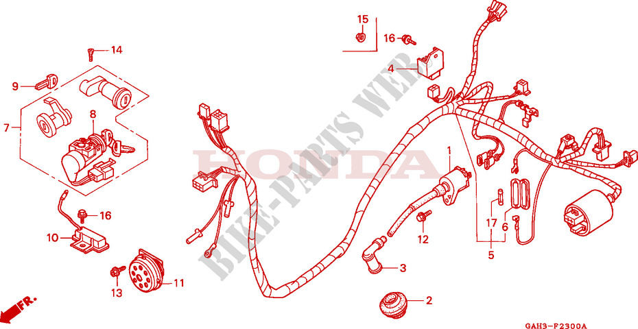 Honda Moped Wiring Diagram - Fav Wiring Diagram on