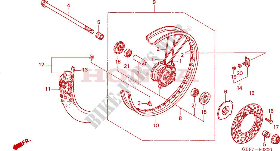 2003 Honda Cr85r Service Manual