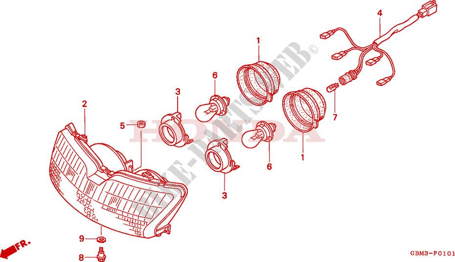 Honda Sfx 50 Wiring Diagram - Schematic Diagrams