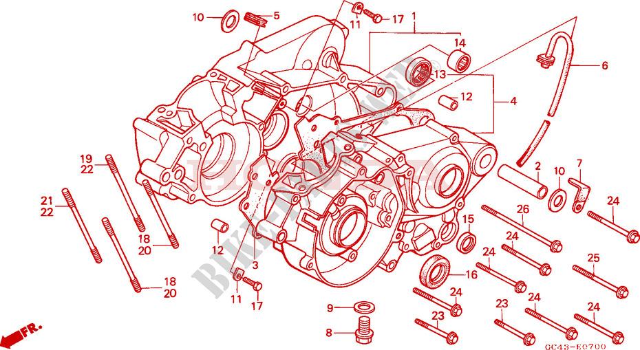 Honda Cr80 Engine Diagram - All Diagram Schematics
