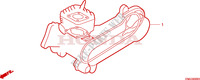 GASKET KIT Honda motorcycle microfiche diagram SGX50X 1999 SKY 50 50TH