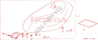 SEAT Honda motorcycle microfiche diagram SGX50X 1999 SKY 50 50TH