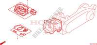 GASKET KIT A Engine 50 honda-motorcycle ZOOMER 2009 EOP0100