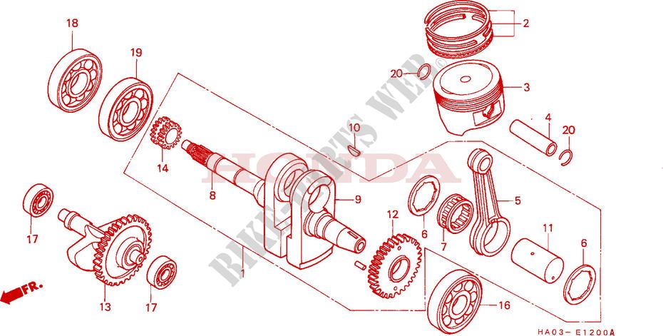 Camshaft Piston Engine Atc250esh A 1987 Atc 250 ATV Honda Motorcycle. Honda ATV 250 Atc 1987 Atc250esha Engine Camshaftpiston. Wiring. Diagram Of Cam Shaft Engine Pistons At Scoala.co