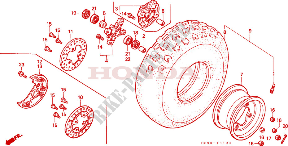Outlaw Racing OR3017 Clutch Cable IT250 81-83 IT465 81-82 IT490 83-84 YZ250 81-82