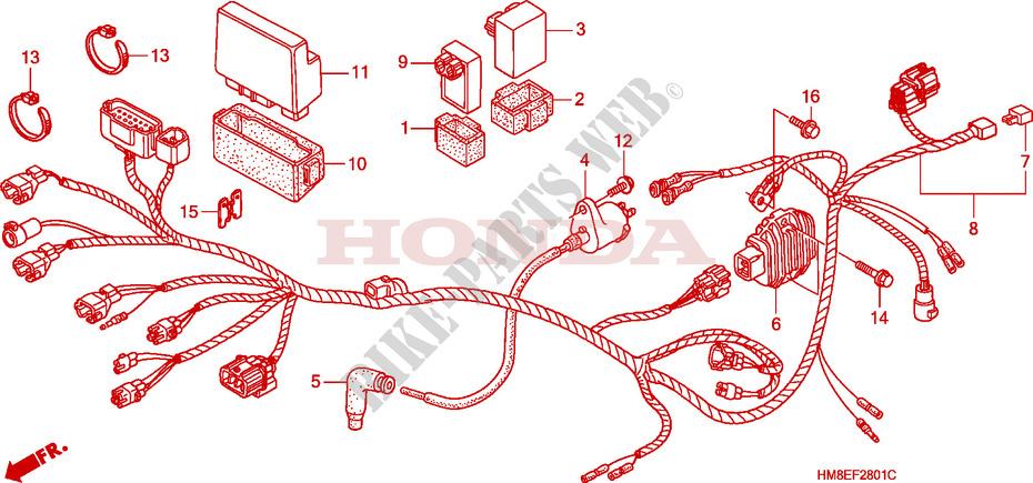 honda 250sx wiring diagram honda motorcycle repair