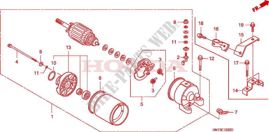 2002 Honda Atv Engine Diagram