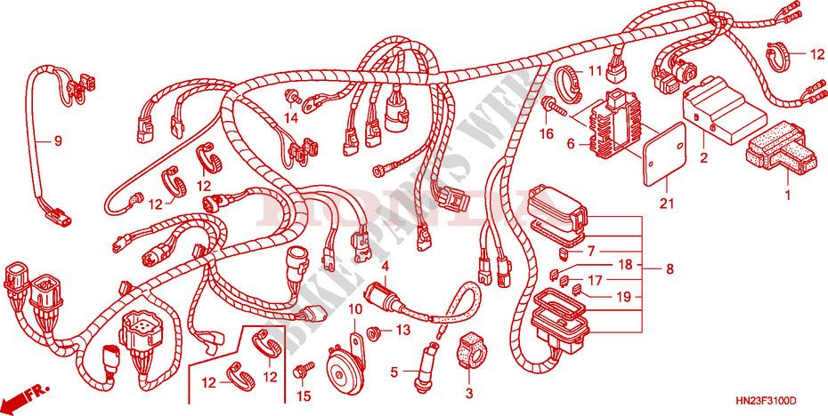 2002 Honda Foreman Wiring Diagram