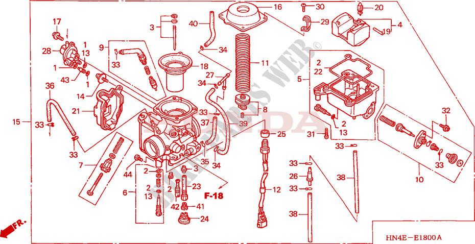 Wiring Diagram 2002 Honda Trx350fm wiring diagrams image free