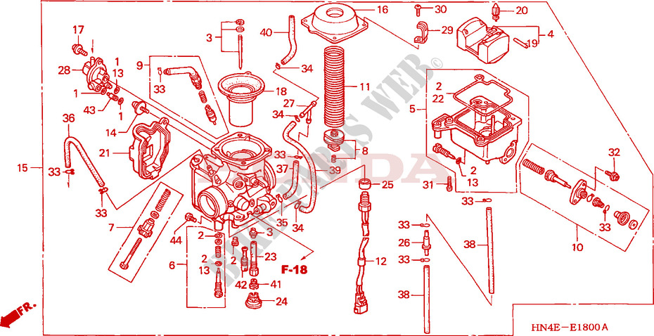 05 Honda 350 Rancher Engine Diagram - Wiring Diagram Img on