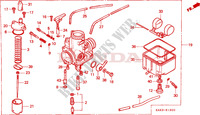 CARBURETOR Engine 125 honda-motorcycle CRM 1999 E__1300