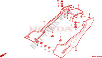 SIDE COVER Frame 250 honda-motorcycle CB 1998 F__1500