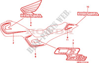 STRIPE/MARK (2) Frame 250 honda-motorcycle CB 1998 F__3101