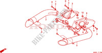 AIR DUCT Frame 125 honda-motorcycle NSR 2001 F__1700
