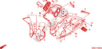 LOWER COWL Frame 125 honda-motorcycle NSR 1997 F__3400